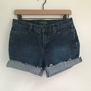 VINTAGE RL DENIM SHORTS